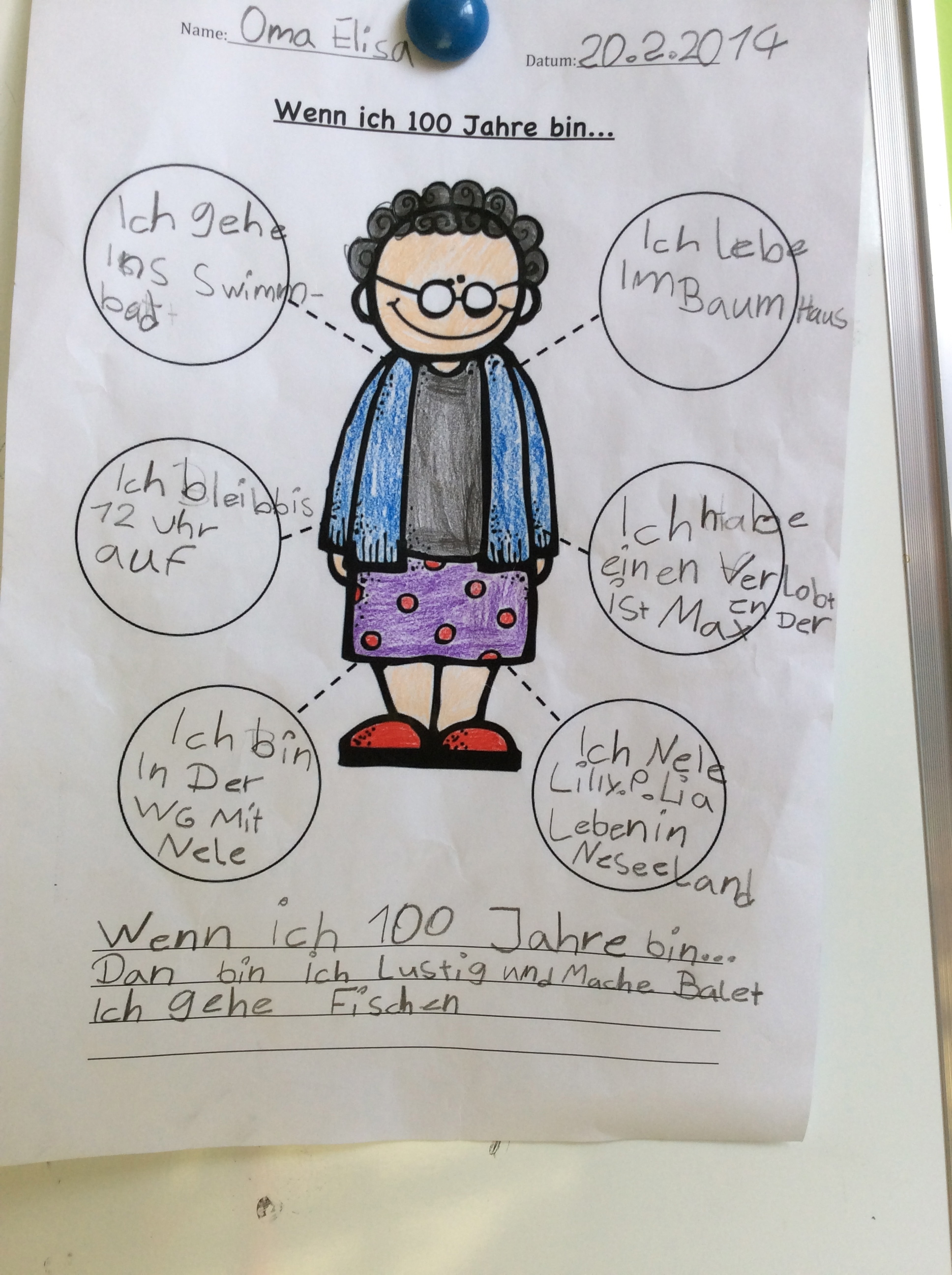 100 Tage Schule – 100 Days of School – Grundschul-Blog