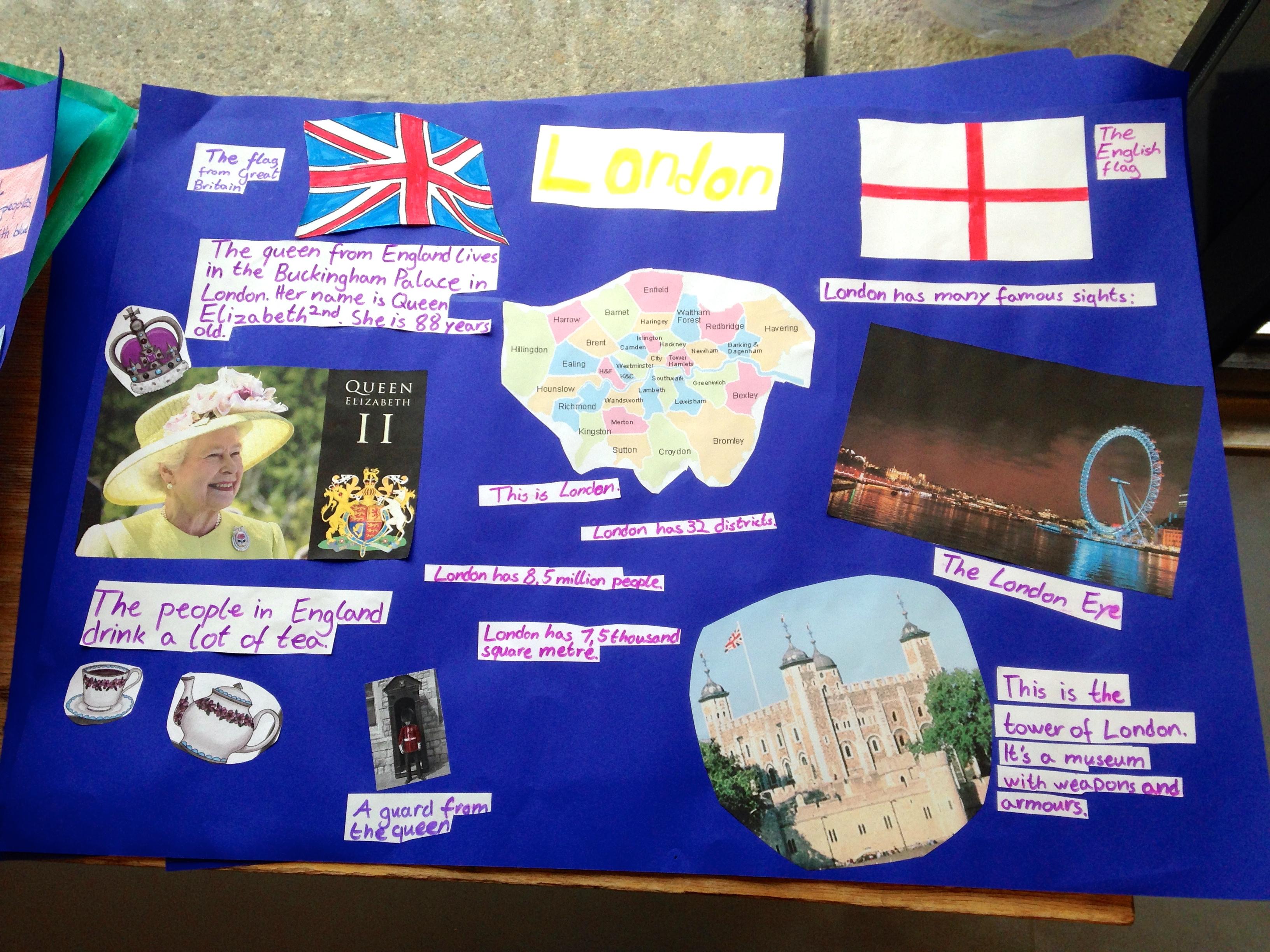 Englischunterricht London Klasse 6 – Grundschul-Blog
