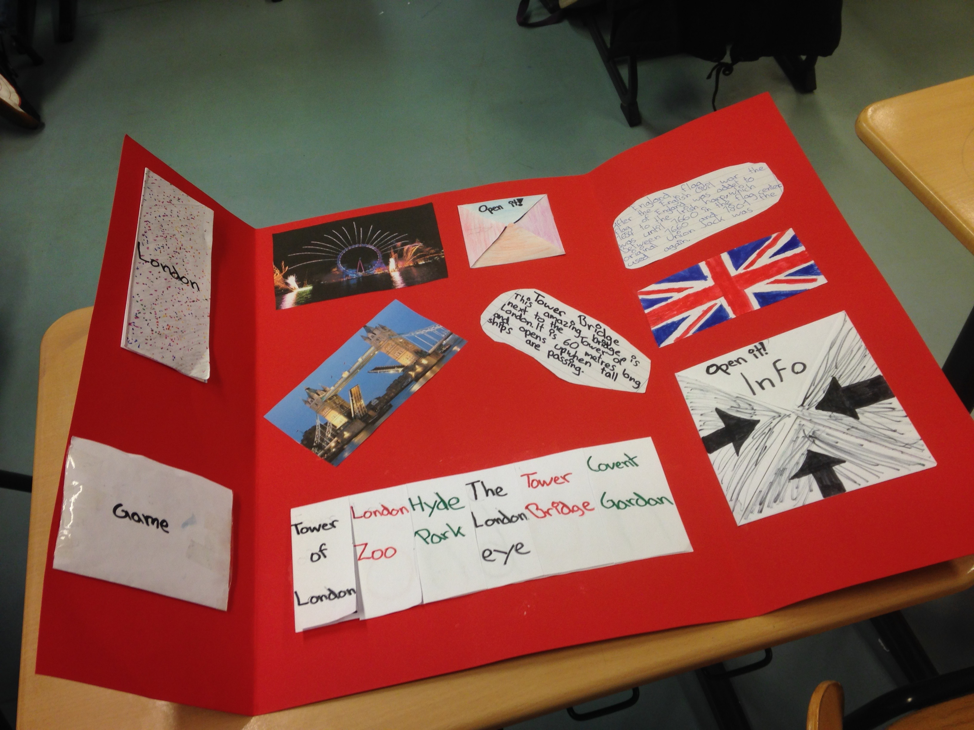 London Lapbooks Grundschul Blog