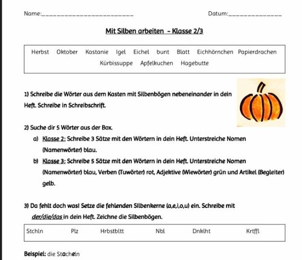 Deutsch – Grundschul-Blog