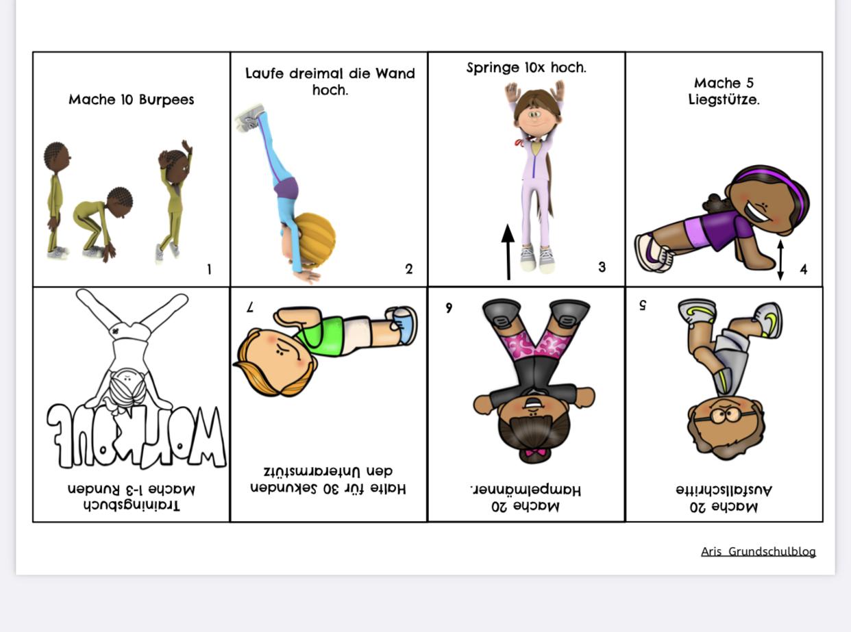 ArisGrundschulblog – Materialien für Lehrer, Schüler und Eltern